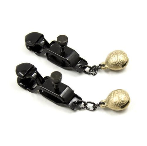 8890M      Bells and Whistles Belled Adjustable Nipple Clamps - Sub-Shop Bondage and Fetish Superstore