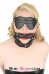 Bondage Blinders Buckling Blindfold - Sale BDSM, Bondage Gear, Adult Toys, Bondage Sex, Orgasm Belt, Male Chastity, Bondage Gag. Bondage Slave Collars, Wrist Cuffs, Submissive, Dominant, Master, Mistress, Cross Dressing, Sex Toys, Bondage Sale, Bondage Clearance, MEGA Deal Bondage, Sub-Shop Bondage and Fetish Superstore