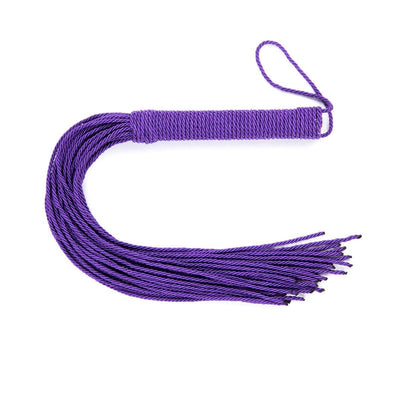 "9034DL      Strike a Cord 19"" Purple Strand Whip - Sale BDSM, Bondage Gear, Adult Toys, Bondage Sex, Orgasm Belt, Male Chastity, Gags. Bondage Slave Collars, Wrist Cuffs, Submissive, Dominant, Master, Mistress, Crossdresser, Sub-Shop Bondage and Fetish Superstore"