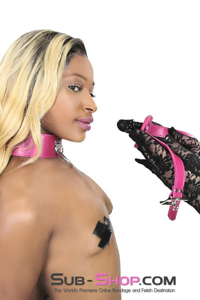 9053DL      Locking Rubber Fuchsia Penis Gag - Sale BDSM, Bondage Gear, Adult Toys, Bondage Sex, Orgasm Belt, Male Chastity, Gags. Bondage Slave Collars, Wrist Cuffs, Submissive, Dominant, Master, Mistress, Crossdresser, Sub-Shop Bondage and Fetish Superstore