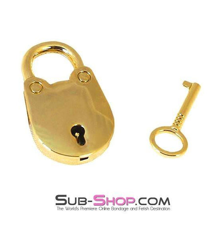 9729K      Gold Series Jailer's Mini Padlock - Sub-Shop.comPadlock - 1