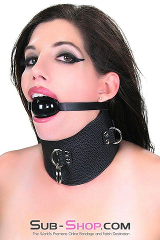 9764M      Conquered Slave Posture Collar <b>Black Friday Blowout!</b> - Sub-Shop Bondage and Fetish Superstore