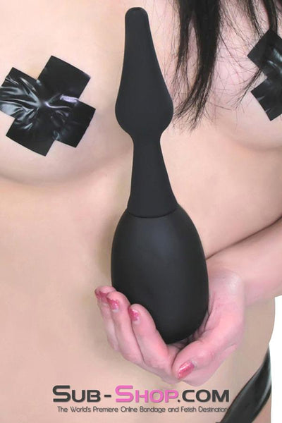 9792M      Silicone Flare Tip Enema Play Cleansing Kit - Sale BDSM, Bondage Gear, Adult Toys, Bondage Sex, Orgasm Belt, Male Chastity, Gags. Bondage Slave Collars, Wrist Cuffs, Submissive, Dominant, Master, Mistress, Crossdresser, Sub-Shop Bondage and Fetish Superstore