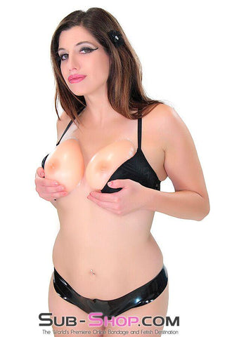 9882RS      Brigitte Silicone Real Feel Breast Enhancer Inserts with Nipples, D Cup - Sale BDSM, Bondage Gear, Adult Toys, Bondage Sex, Orgasm Belt, Male Chastity, Gags. Bondage Slave Collars, Wrist Cuffs, Submissive, Dominant, Master, Mistress, Crossdresser, Sub-Shop Bondage and Fetish Superstore