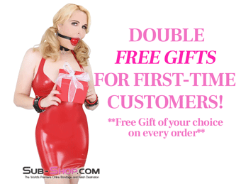 DOUBLE FREE GIFTS FOR FIRST-TIME CUSTOMERS! **Free Gift of your choice on every order**