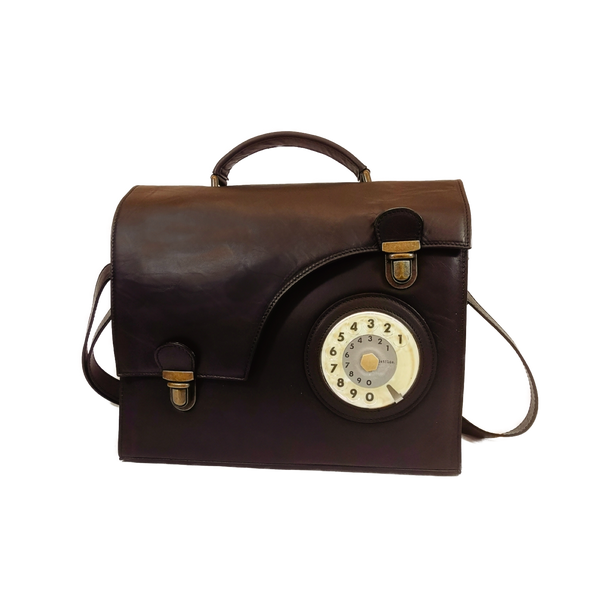 Work phone bag testa di moro