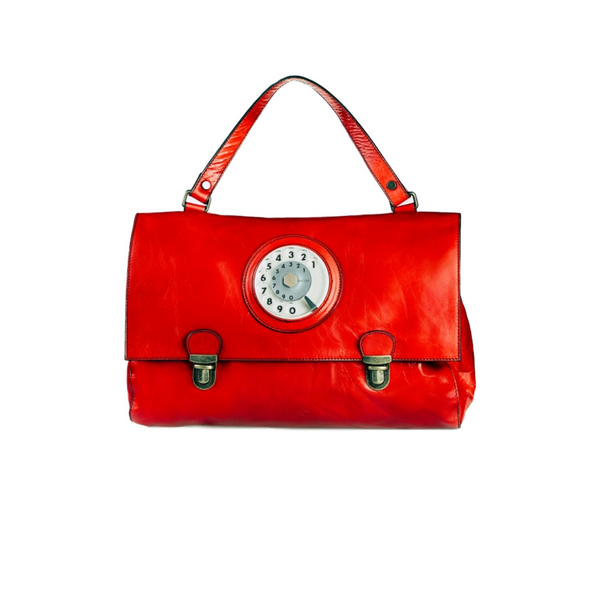 Daily phone bag rosso corallo