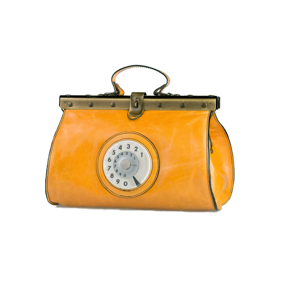 Doctor phone bag senape