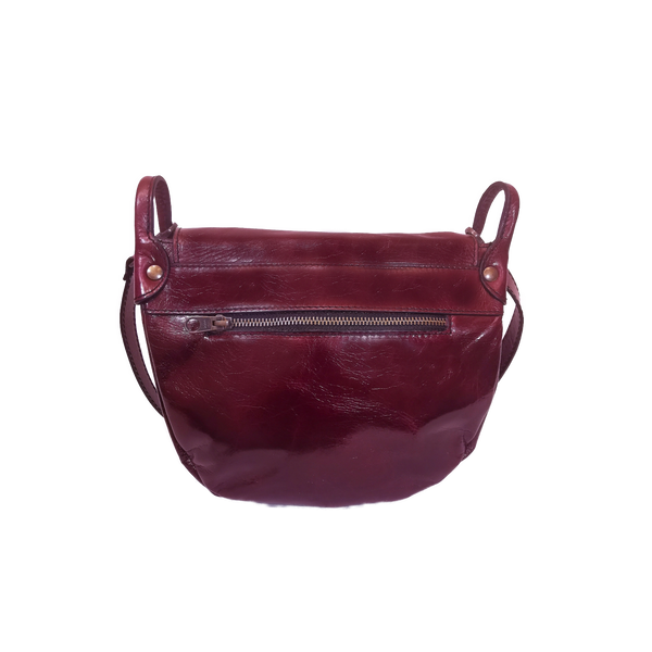 Saddle phone bag melanzana