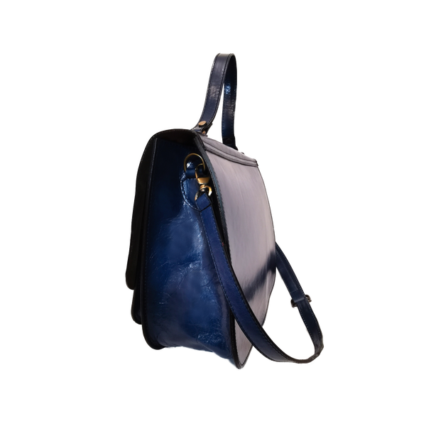 Marty phone bag blu cobalto