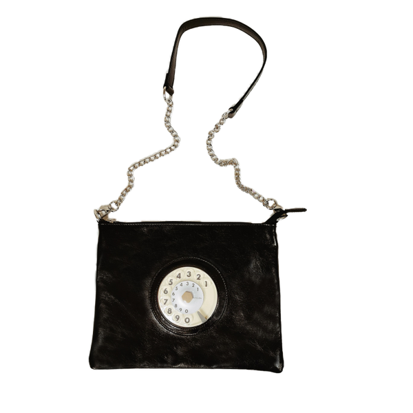 Lucky phone bag silver black