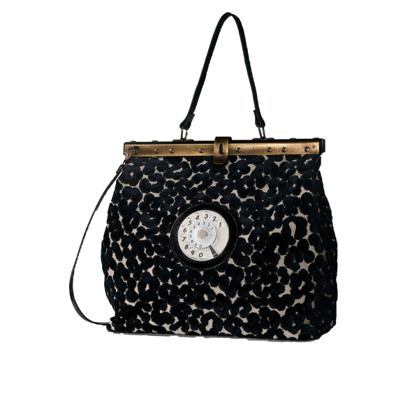 Mary phone bag leopardino nero