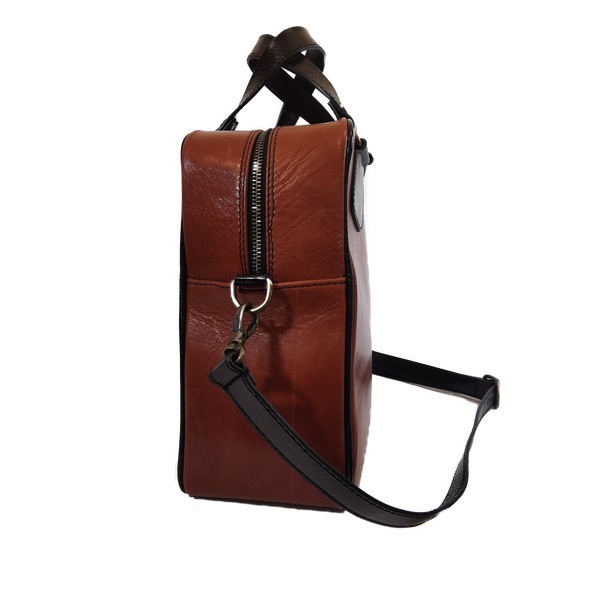 Strike phone bag cuoio
