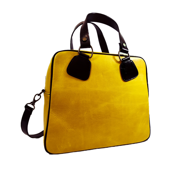 Strike phone bag giallo