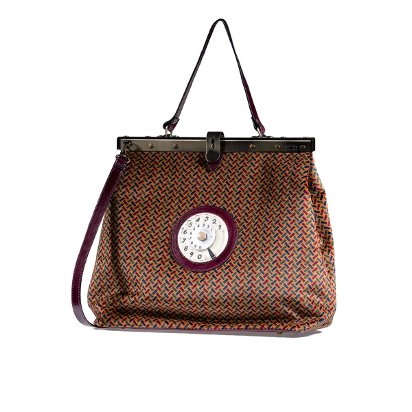 Mary phone bag spigato bordeaux
