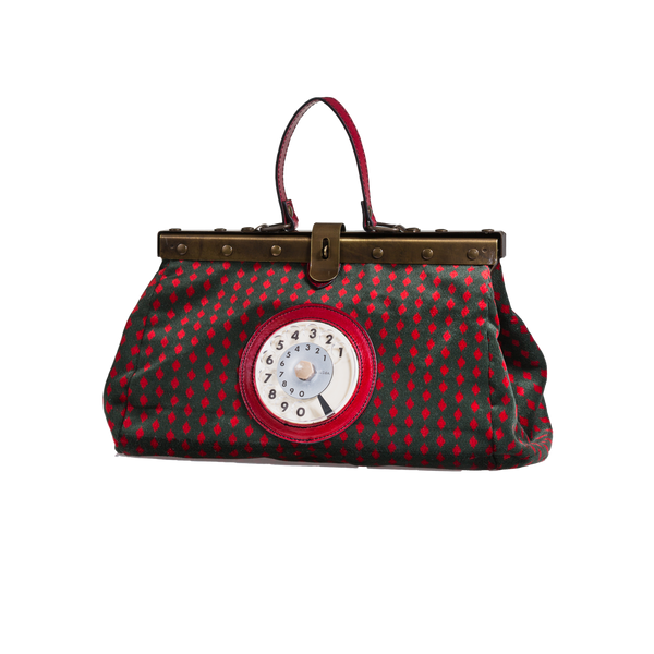 Doctor phone bag easy rombo rosso
