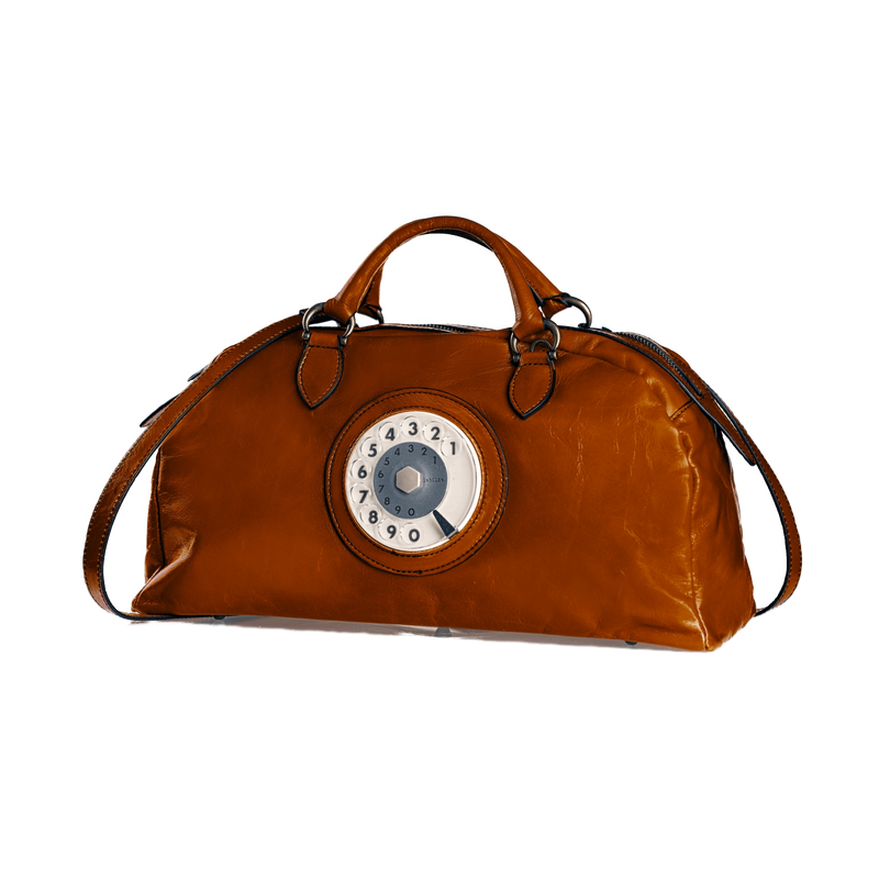 Toffee phone bag cuoio
