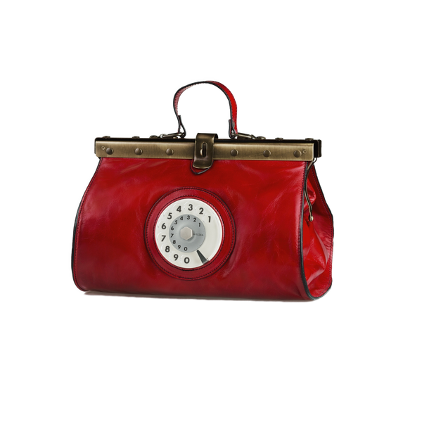Doctor phone bag amaranto