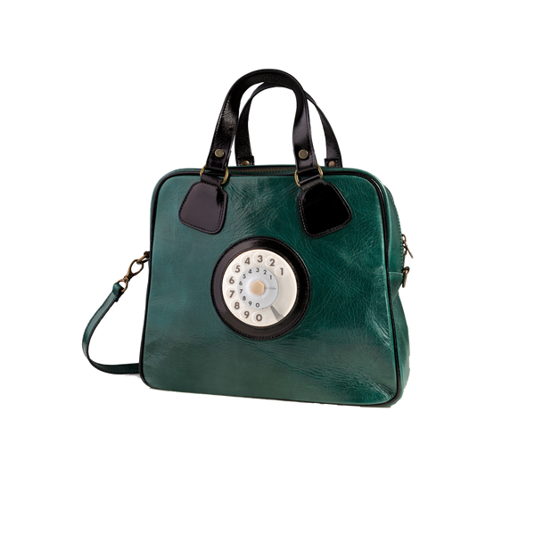 Strike phone bag verde nero