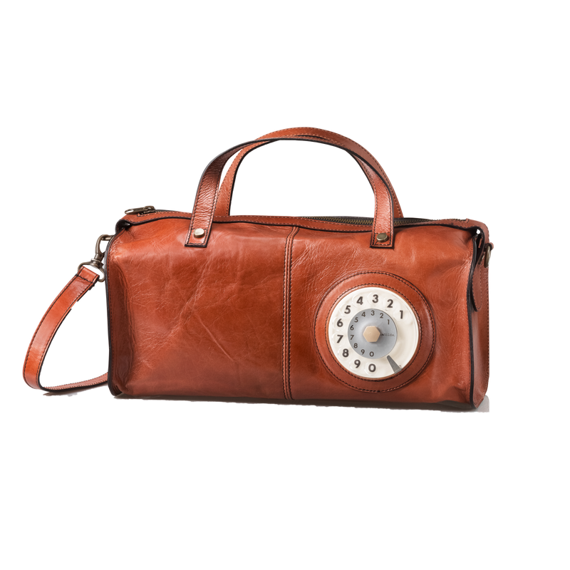 Fm phone bag caramello