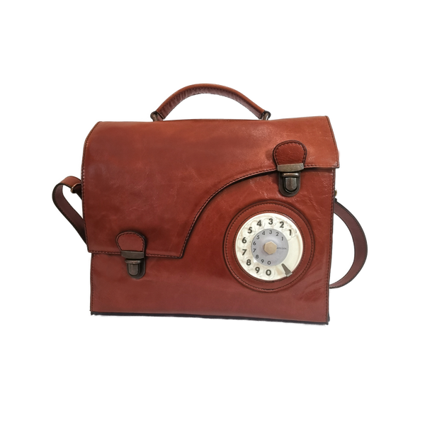Work phone bag cuoio