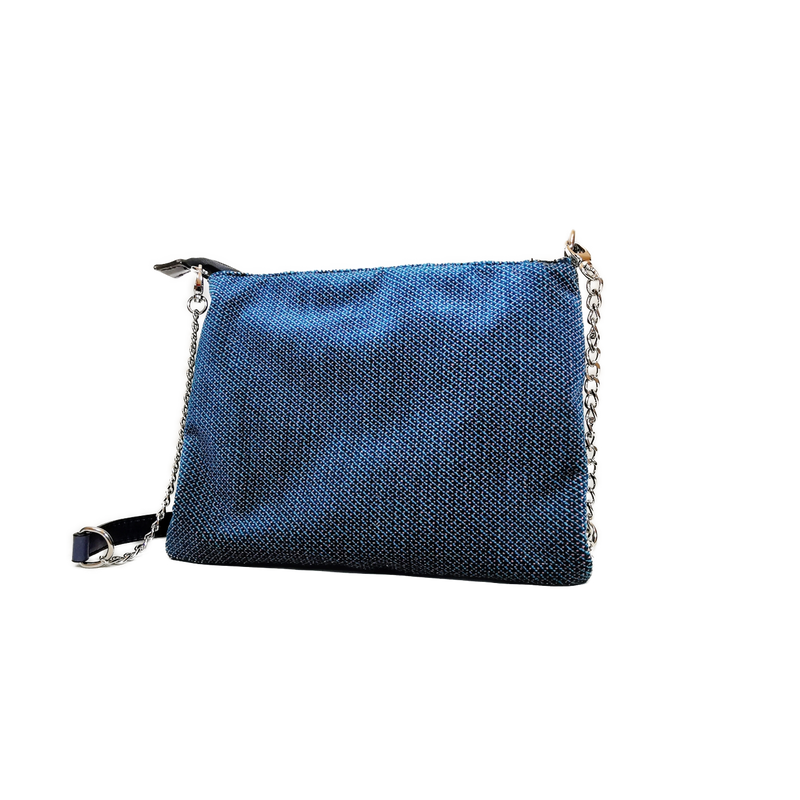 Lucky phone bag blue velvet