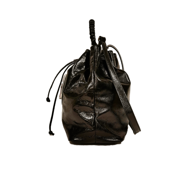 Bucket phone bag nero