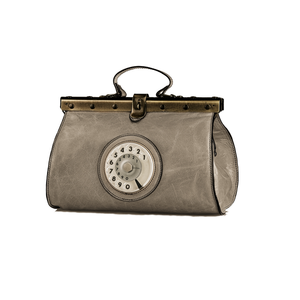 Doctor phone bag grigio