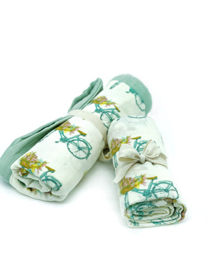 Bike Basket Blankets - Large Lovey and Swaddle