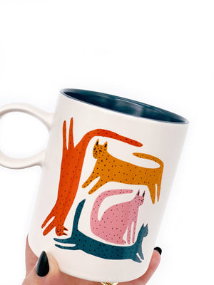 Colorful Cats Mug