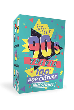 Totally 90's Trivia Cards