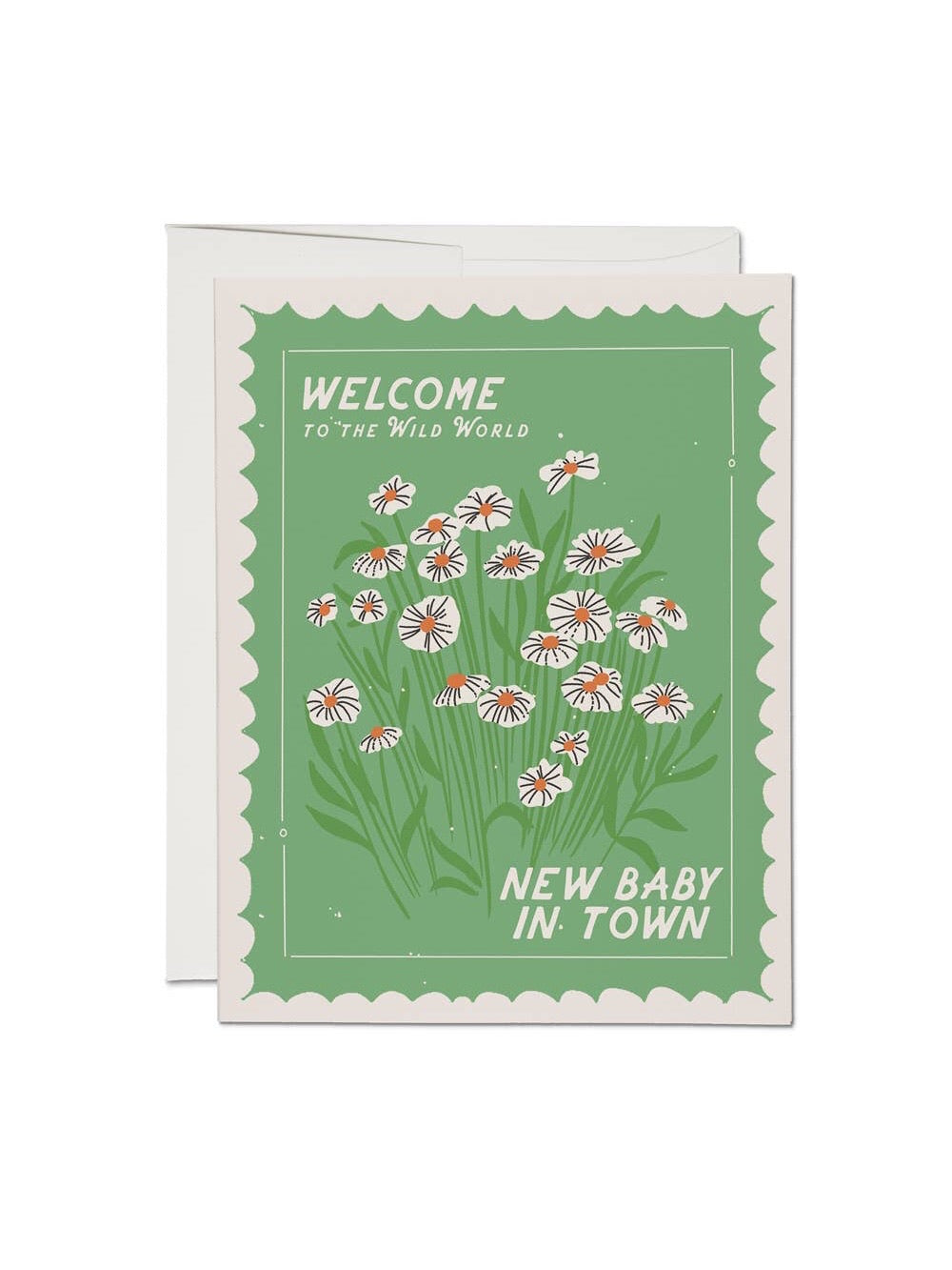 New Baby in Town Card