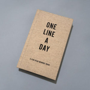One Line a Day Journal