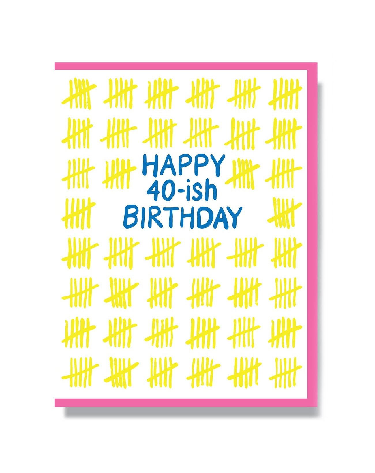 Happy 40-ish Birthday Card