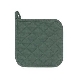 Heirloom Stonewash Potholder- Jade