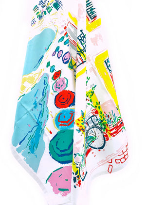 Amalfi Dreams Kitchen Towel
