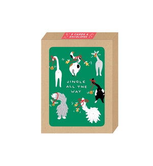 Jingle All The Way Boxed Card Set