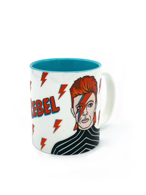 David Bowie Rebel Mug