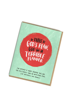 Terrible Planner Card