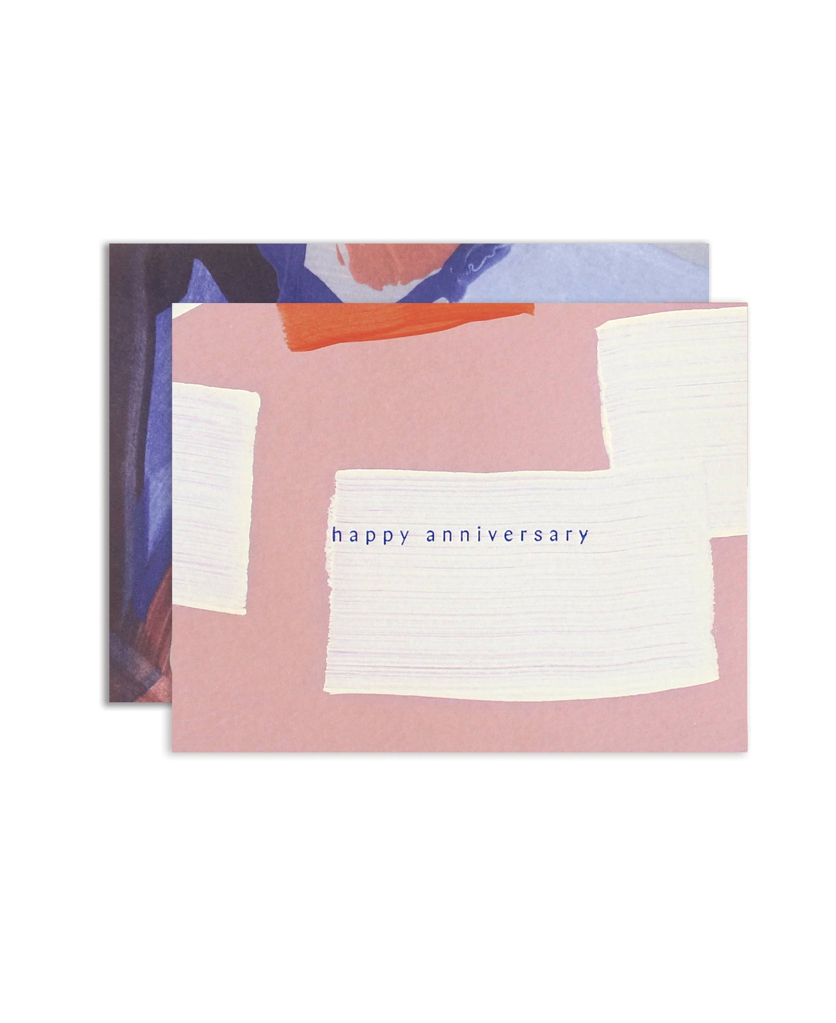 Hand-painted Happy Anniversary Card