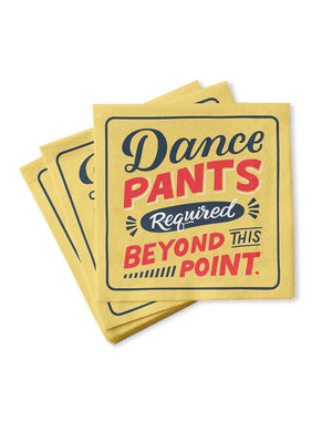 Dance Pants Napkins