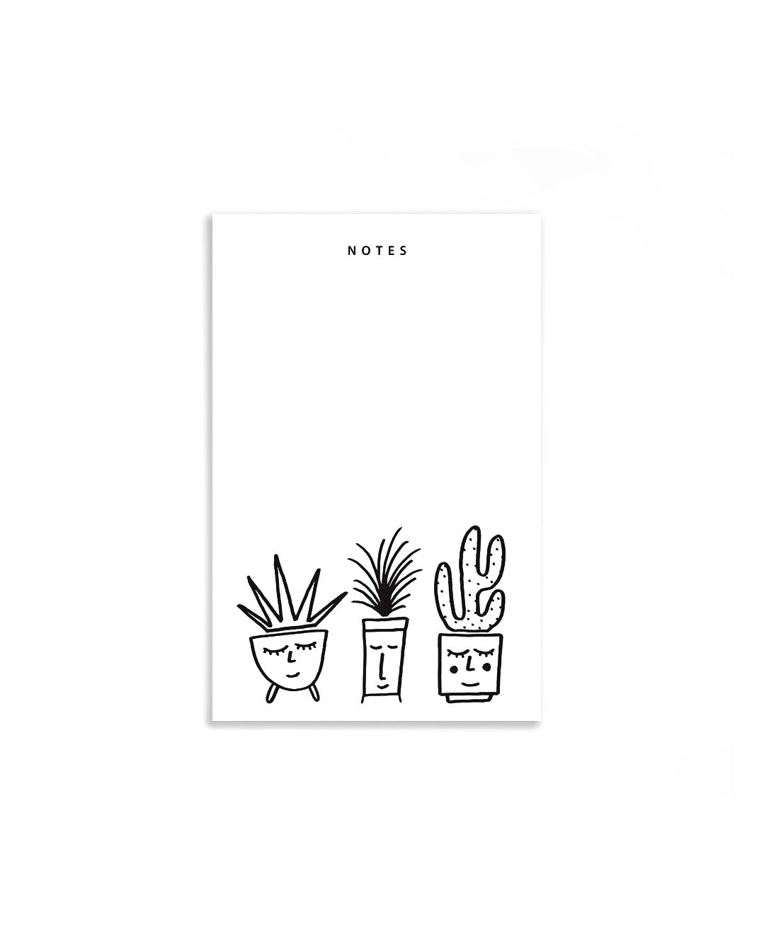 Happy Plants Notepad