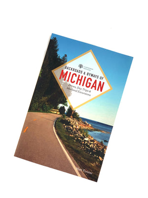 Backroads & Byways of Michigan Book