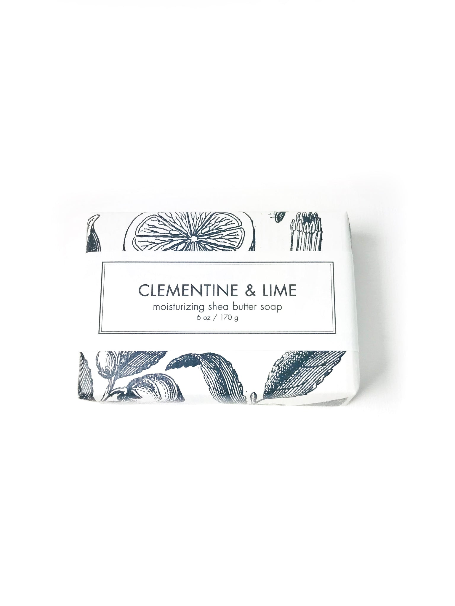 Moisturizing Shea Butter Soap- Clementine & Lime