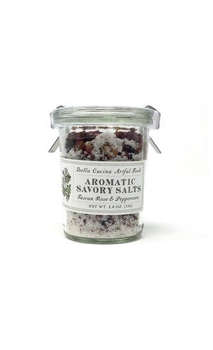 Tuscan Rose & Peppercorn Savory Salt