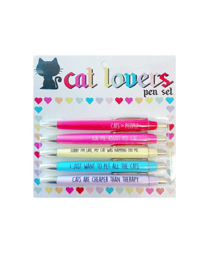 Cat Lovers Pen Pack