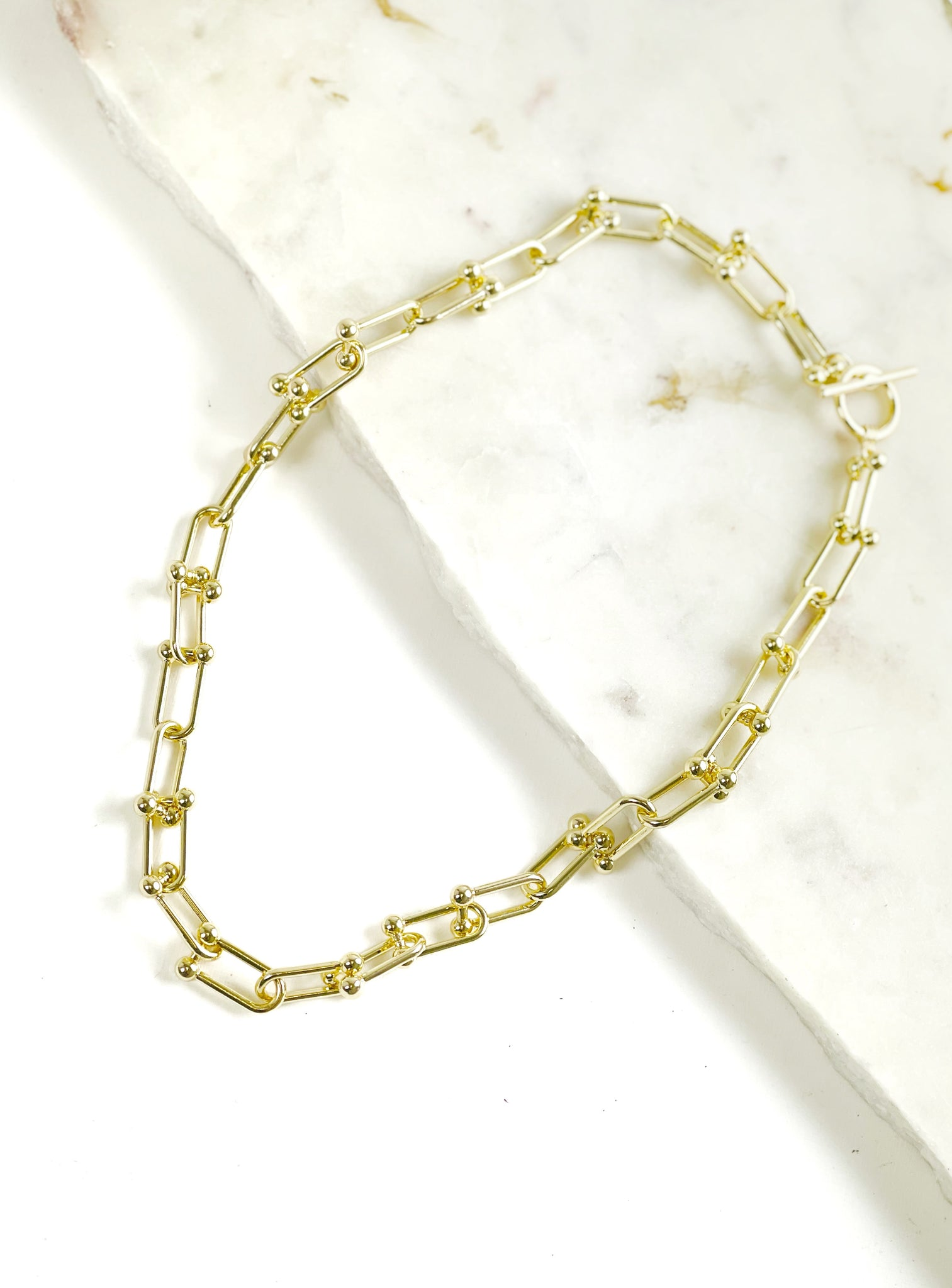 Renata Chunky Gold Chain Necklace
