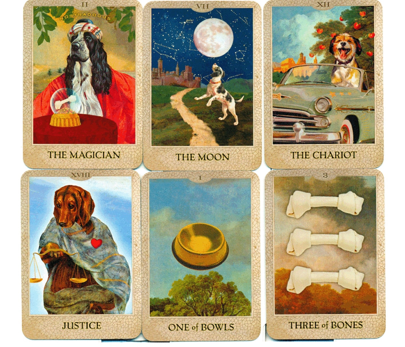 Dog Tarot Boxed Deck of Cards