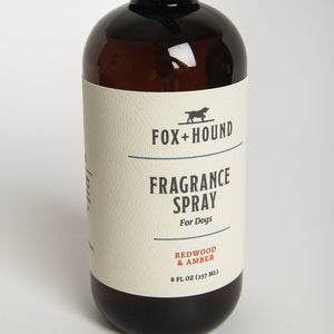 Fragrance Spray for Dogs- Redwood & Amber
