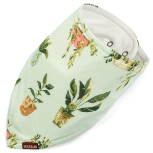 Houseplants Cozy Kerchief Bib